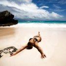 Sexy Girl Hot Bikini Beach 32x24 Print Poster