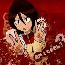 Rukia Kuchiki Bleach Anime Art 32x24 Print Poster
