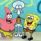 Spongebob Square Pants Art 32x24 Print Poster