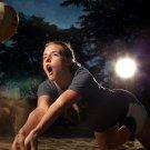 Hot Girl Beach Volleyball Sport 32x24 Print Poster
