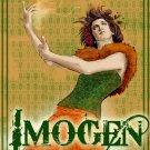 Imogen Retro Art Girl 32x24 Print Poster