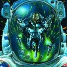 Punisher Space Marvel Comics Art 32x24 Print Poster
