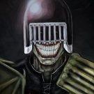 Judge Death Dredd Art 32x24 Print Poster