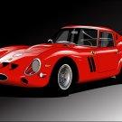 Ferrari 250 GTO Italy Car Art 32x24 Print Poster