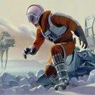 Star Wars Hoth At At Art 32x24 Print Poster