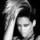 Rihanna Rated R BW Hot Portrait Music 32x24 Print Poster