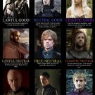 Game Of Thrones Character Alignment TV 32x24 Print Poster