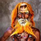 Rajasthan India Old Man National Geographic 32x24 Print Poster