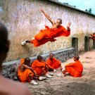 China Shaolin Monks National Geographic 32x24 Print Poster