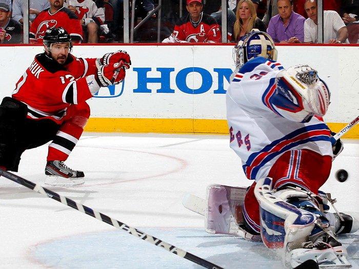 Ilya Kovalchuk Goal New Jersey Devils NHL 32x24 Print Poster