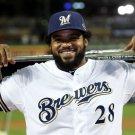 Prince Fielder Milwaukee Brewers MLB 32x24 Print Poster