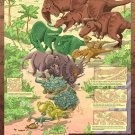 Dinosaurs Kids Educational Science 32x24 Print Poster
