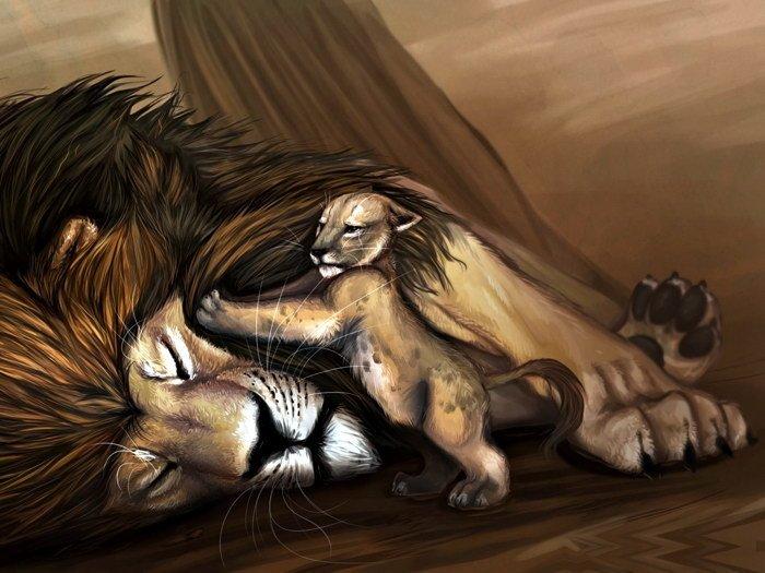 Lion King Art Disney 32x24 Print Poster
