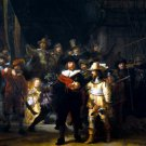 The Night Watch Rembrandt Van Rijn Art 32x24 Print Poster