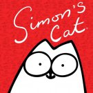 Simon S Cat Cool Art 32x24 Print Poster