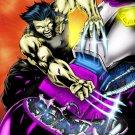 Wolverine Vs Sentinel X Men Marvel Art 32x24 Print Poster