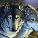 Wolves Art Animal Nature 32x24 Print Poster