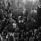 New York City Skyscrapers BW NYC 32x24 Print Poster