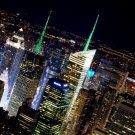 New York City NYC Night Lights 32x24 Print Poster