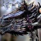 Dark Magic Dragon Fantasy Art 32x24 Print Poster