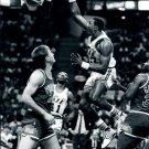 Karl Malone Dunk Utah Jazz BW NBA 32x24 Print Poster