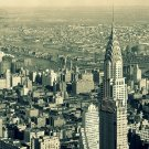 New York City NY Chrysler Building 16x12 Print POSTER