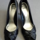 Mootsies Tootsies Black Dress High Heels Size 9 1/2