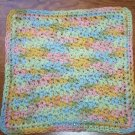 100% Cotton Crochet Dishcloth Buttercream