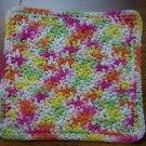 100% Cotton Crochet Dishcloth Lazy Daisy