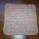100% Cotton Crochet Dishcloth Neopolitan Twist