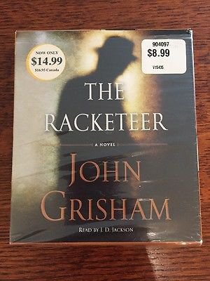 John Grisham The Racketeer on CD - FREE Shipping