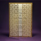 Paris Laser Cut A9 Wedding Invitation - 25 Count