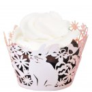 Spring Bunny Laser Cut Cupcake Wrapper - 25 Count