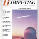 II Computing Magazine, October / November 1985 for Apple II II+ IIe IIc IIgs