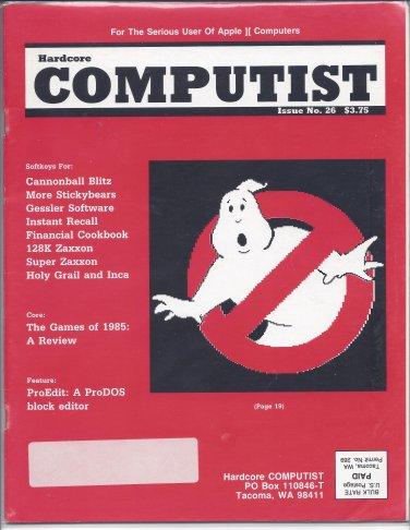 Hardcore Computist Magazine, Issue 26, for Apple II II+ IIe IIc IIgs
