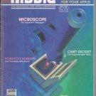 Nibble Magazine, June 1986, for Apple II II+ IIe IIc IIgs