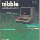 Nibble Magazine, March 1986, for Apple II II+ IIe IIc IIgs