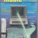 Nibble Magazine, November 1986, Tape on Cover, for Apple II II+ IIe IIc IIgs