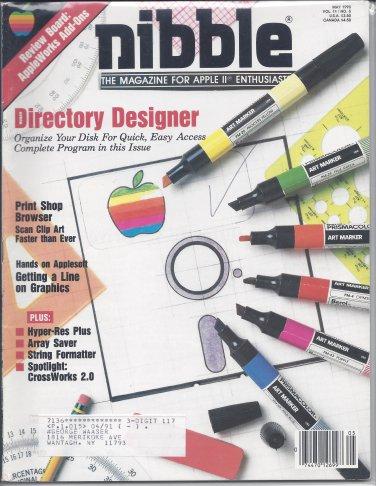 Nibble Magazine, May 1990, Marked, for Apple II II+ IIe IIc IIgs