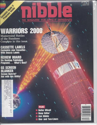 Nibble Magazine, December 1990, for Apple II II+ IIe IIc IIgs