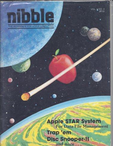 Nibble Magazine, Volume 2 Number 4, for Apple II II+ IIe IIc IIgs