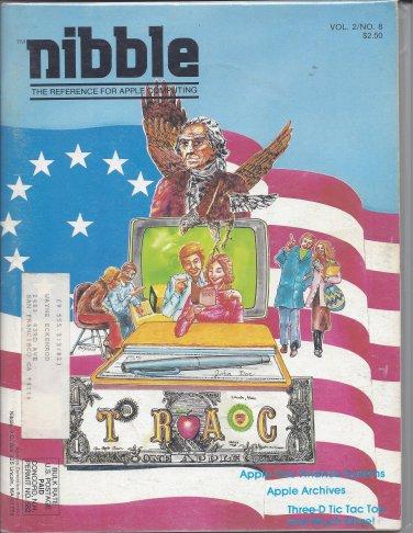 Nibble Magazine, Volume 2 Number 8, for Apple II II+ IIe IIc IIgs