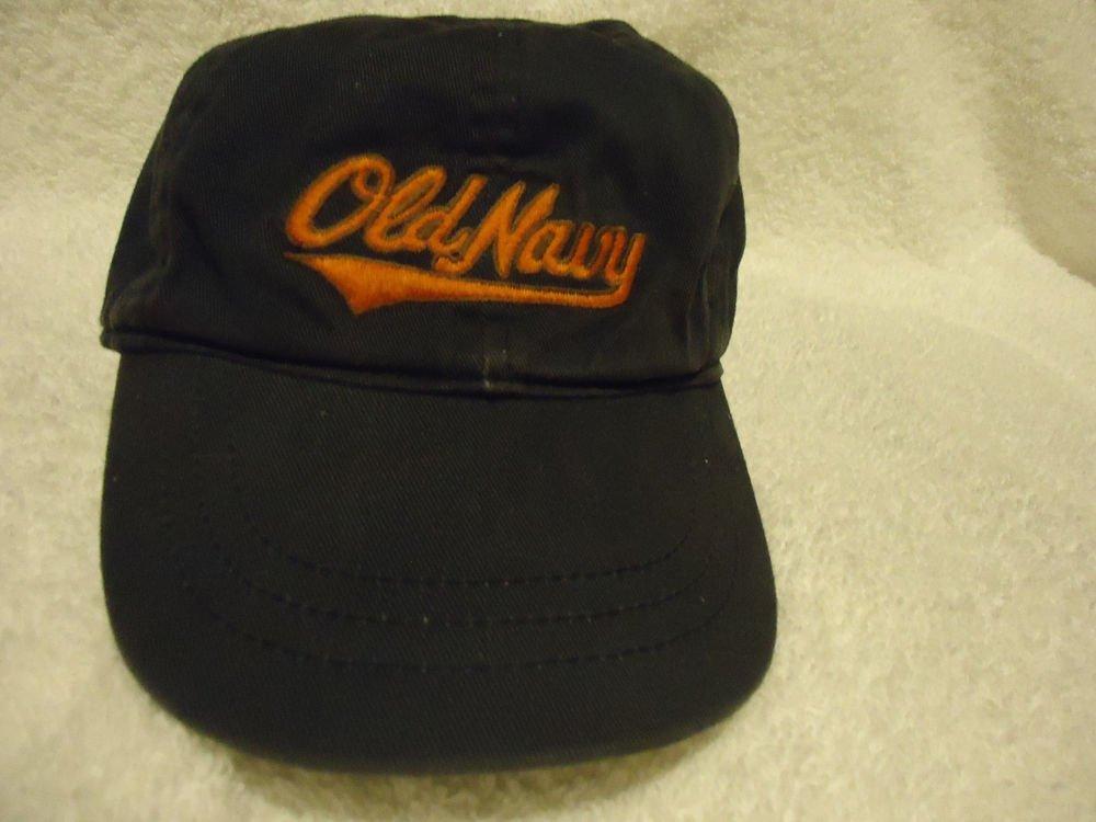 OLD NAVY BASEBALL CAP FOR CHILDREN...BLUE & ORANGE...