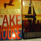LOT OF 2 JAMES PATTERSON BOOKS....LAKE HOUSE & SAIL...1ST EDITION...HARDCOVER