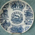 TUPELO BICENTENIAL PLATE..1870-1970..BIRTHPLACE OF ELVIS PRESLEY