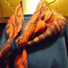 PAISLEY  DESIGN MIXED SILK LADIES  SCARF NICE.RED/BLUE/MIXED...SO BRIGHT