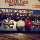 MISSISSIPPI STATE AUTHENTIC GAME DAY OUTFITTERS EXPANSION BRACELET..MAROON/WHITE
