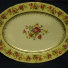 "VINTAGE GOLD CASTLE 12 1/4"" PLATTER BEAUTIFUL PATTERN..MADE IN JAPAN"
