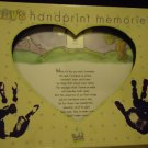 TENDER TIMES BABY'S HANDPRINT MEMORIES KIT...NEW IN BOX...NICE