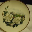 "ICEBERG"" BOEHM ROYAL NATIONAL ROSE SOCIETY DECORATIVE PLATE  10 3/4"